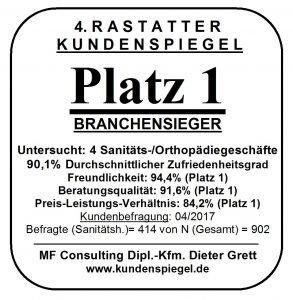 Orthopädiegeschäft Wald Rastatt Ettlingen