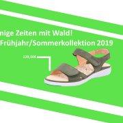 Sommerkollektion Schuhe